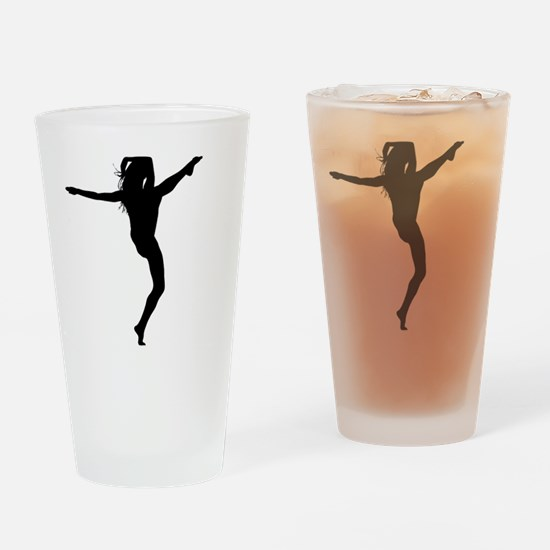 Funny Toes Drinking Glass