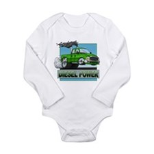 Funny Drag racing Long Sleeve Infant Bodysuit
