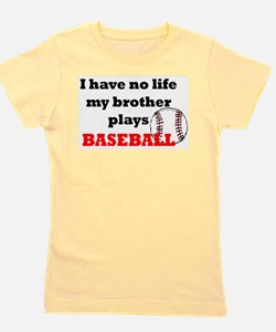 Cute Baseball Girl's Tee