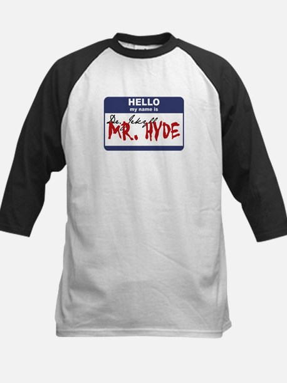 Dr. Jekyll/Mr. Hyde Kids Baseball Jersey