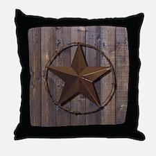 Cute Texas star Throw Pillow