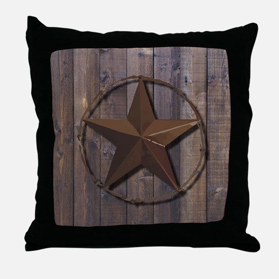 Cute Texas star Throw Pillow