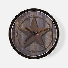 Cute Dallas texas Wall Clock