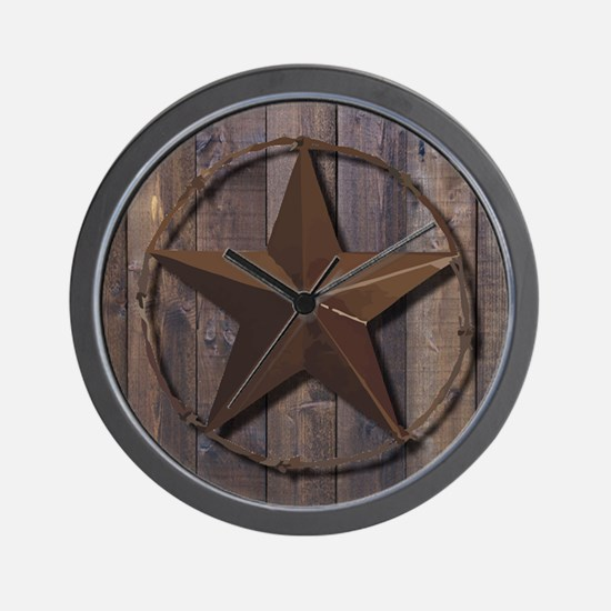 Cute Country western Wall Clock