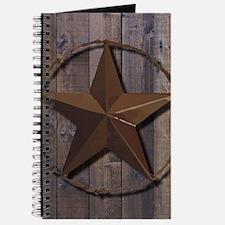 western barnwood texas star Journal