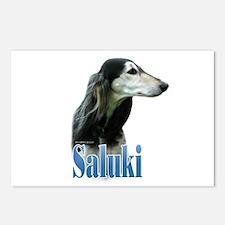 Saluki(tri) Name Postcards (Package of 8)