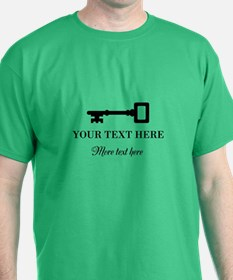 Old Vintage Key T-Shirt For Locksmith