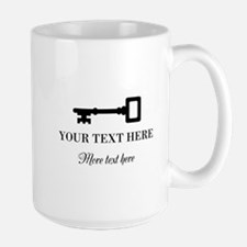 Custom Old Vintage Key Big Mugs For Home Or Office