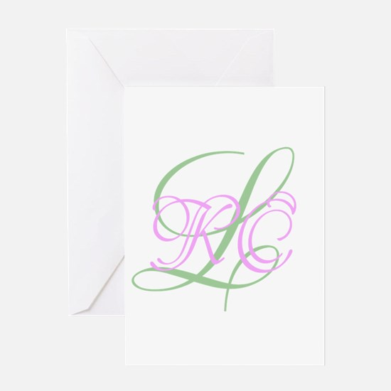 Personalized Monogram Your Text Original Greeting