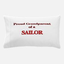 Proud Grandparent of a Sailor Pillow Case
