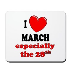 March 28th Mousepad