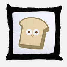 Slice Of Bread Throw Pillow