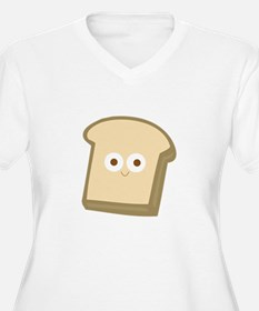 Slice Of Bread Plus Size T-Shirt