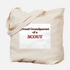 Proud Grandparent of a Scout Tote Bag