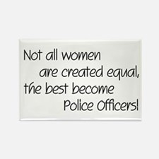 Cute Police officer Rectangle Magnet (10 pack)