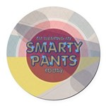 Smart Round Car Magnet
