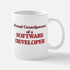 Proud Grandparent of a Software Developer Mugs