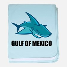 Gulf Of Mexico baby blanket