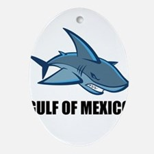 Gulf Of Mexico Oval Ornament