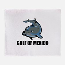 Gulf Of Mexico Throw Blanket