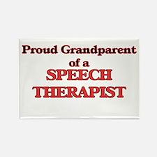 Proud Grandparent of a Speech Therapist Magnets