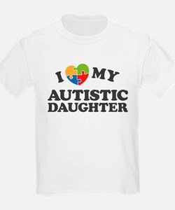 Love My Autistic Daughter T-Shirt