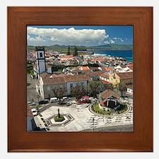 Ribeira Grande Framed Tile