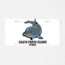 South Padre Island, Texas Aluminum License Plate
