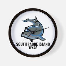 South Padre Island, Texas Wall Clock