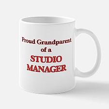 Proud Grandparent of a Studio Manager Mugs
