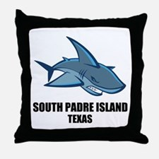 South Padre Island, Texas Throw Pillow