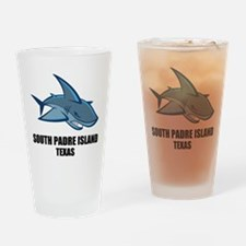 South Padre Island, Texas Drinking Glass