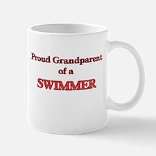 Proud Grandparent of a Swimmer Mugs
