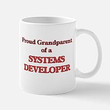 Proud Grandparent of a Systems Developer Mugs