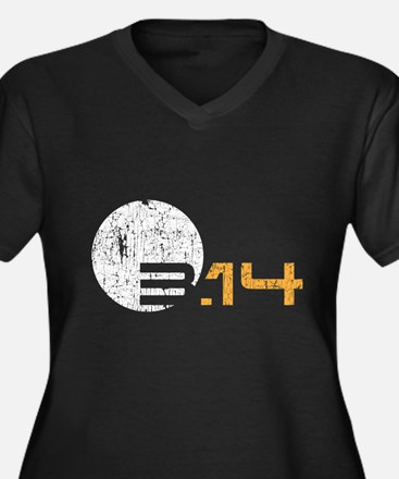 Simple Pi Day 2016 GRUNGE Plus Size T-Shirt