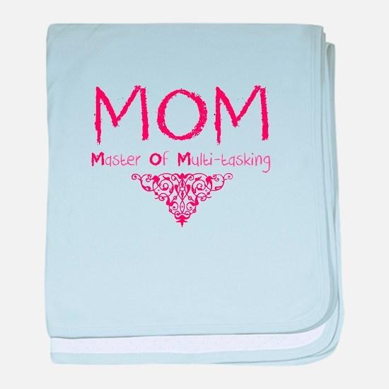 MOM Mother Of Multi-tasking baby blanket
