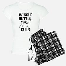 Boxer Wiggle Butt Club Pajamas
