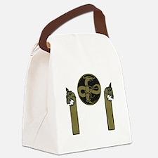 Viking Emblem Canvas Lunch Bag
