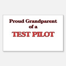 Proud Grandparent of a Test Pilot Decal