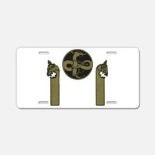 Viking Emblem Aluminum License Plate