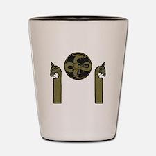 Viking Emblem Shot Glass