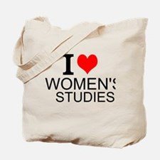 I Love Women's Studies Tote Bag