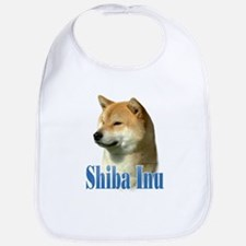 Shiba Name Bib