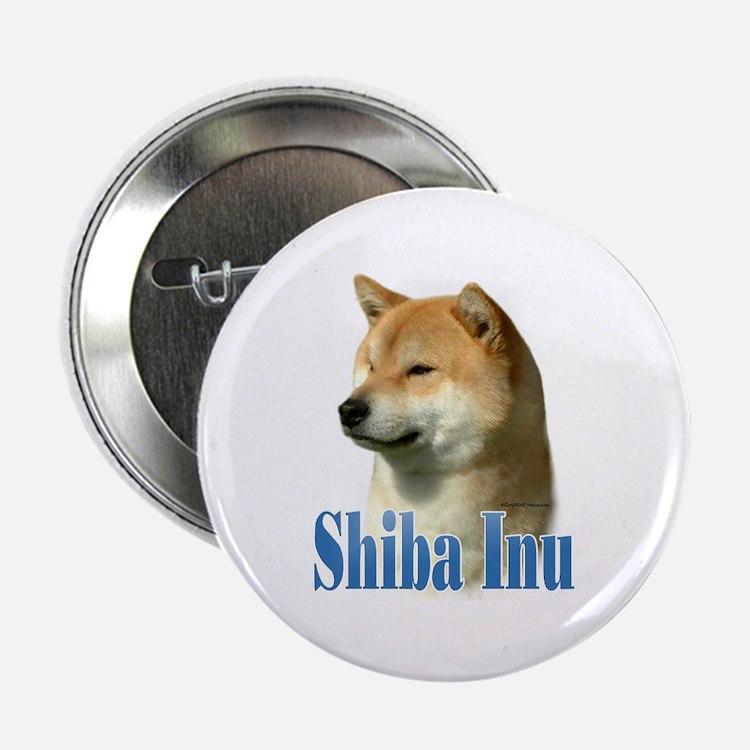 """Shiba Name 2.25"""" Button (100 pack)"""