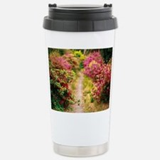 Footpath with azaleas Travel Mug