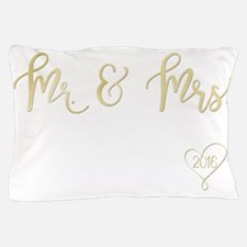 Cute Marriage Pillow Case
