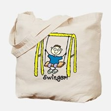 Swinger Swing Set! Tote Bag