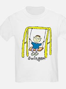 Swinger Swing Set! T-Shirt