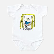 Swinger Swing Set! Infant Bodysuit