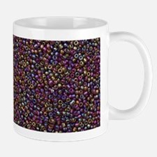 Purple Rainbow Rocaille Seed Beads Mugs